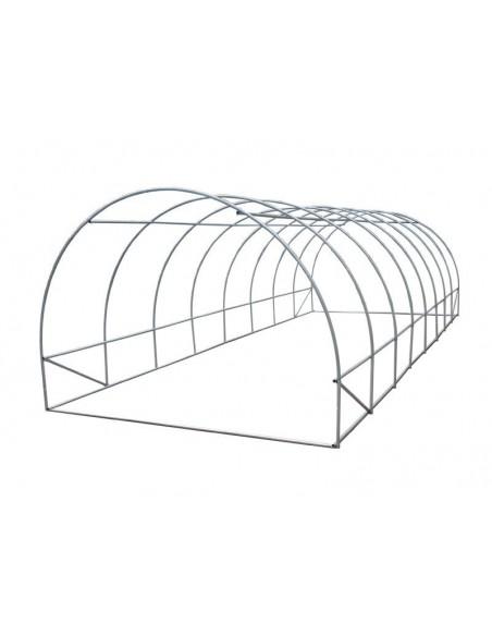 Invernadero Armable de Túnel 24 metros cuadrados Profesional