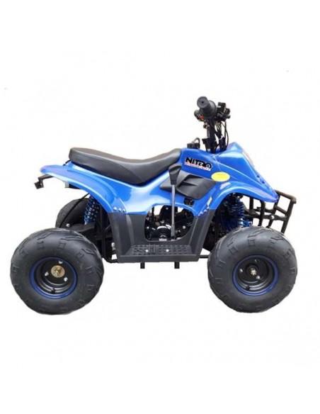 "Cuatrimoto ATV 110cc aro 6"" Azul"