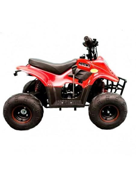 """Cuatrimoto ATV 110cc aro 6"""" Roja"""