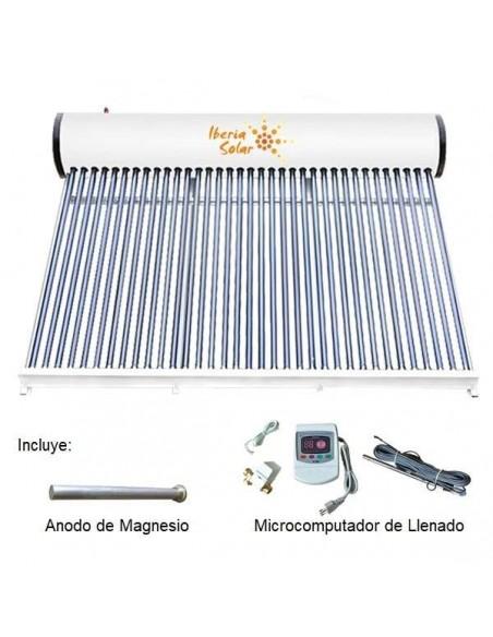 Calentador de Agua Termo Solar ATM 300L 30 Tubos