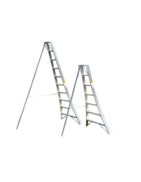 Escalera Aluminio para Poda 3mt Modelo W