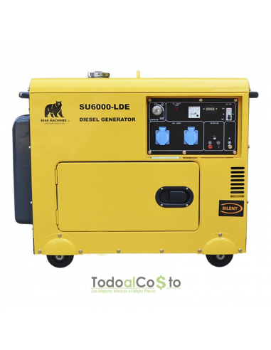 Generador Diesel 5 KVA 220V Insonorizado