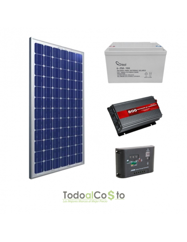Kit Solar Onda Modificada 800W