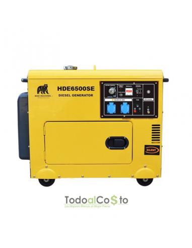 Generador Insonorizado HDE6500SE +...