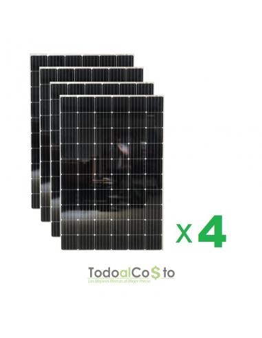 Pack 4 Paneles Fotovoltaicos 320...