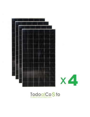 Pack 4 Paneles Fotovoltaicos 400...