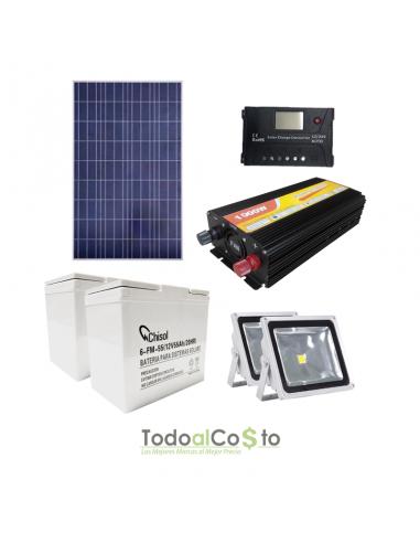 Kit Solar Seguridad e Iluminación...