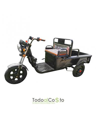 Triciclo Eléctrico 48V Negro