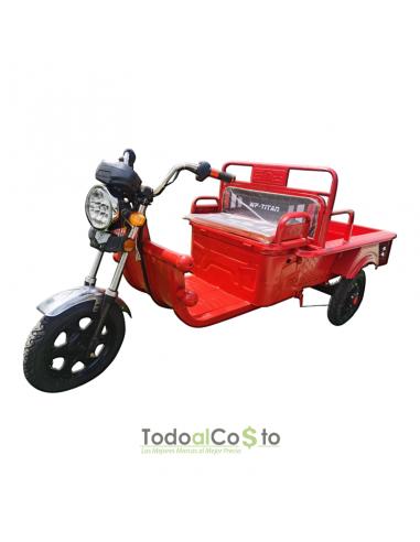 PRE-VENTA Triciclo Eléctrico 48V Rojo