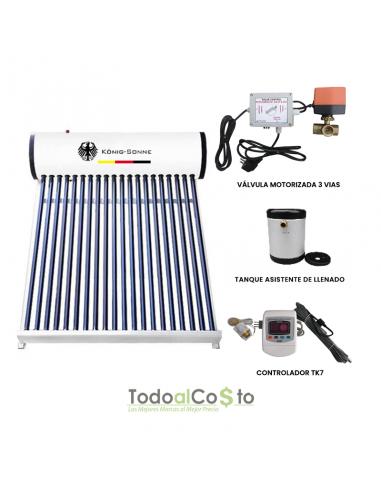 Calentador Solar Automatizado a...